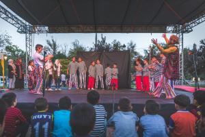 Radionica na prvom Festivalu socijalnog cirkusa u Gazijantepu, Turska, oktobar 2018. godine