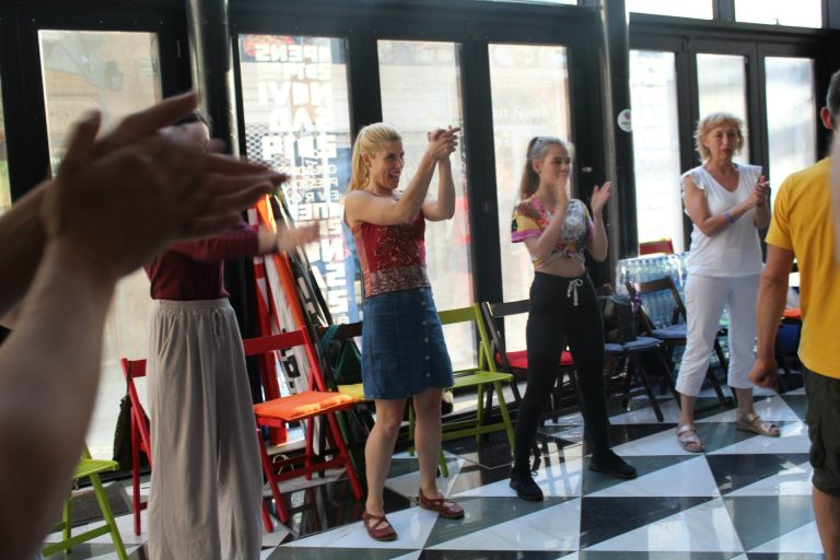 Bukuroshja e lales New Balkan Rhythm workshop